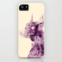 Doberman Sightings iPhone Case