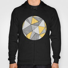 Pattern, grey - yellow Hoody
