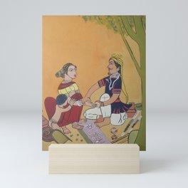 Bangles salesman Mini Art Print