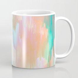 Candy Rainbow Glitch Fall #abstractart Coffee Mug