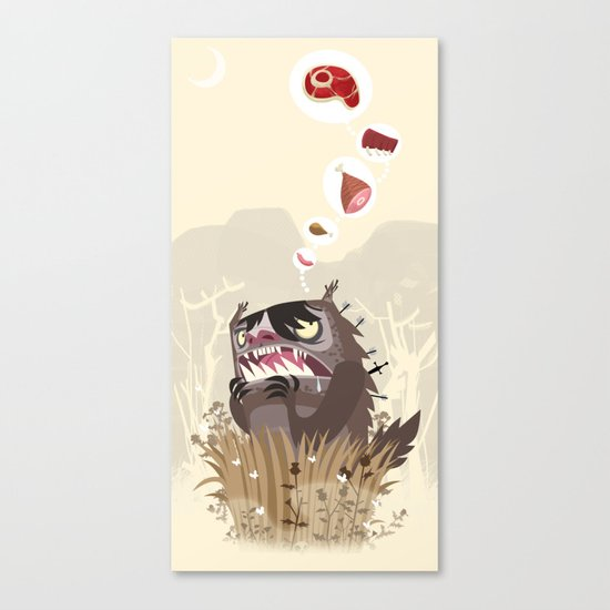 The Meat Freak Canvas Print