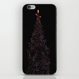 Full Moon Tree Topper (Chicago Christmas/Holiday Collection) iPhone Skin