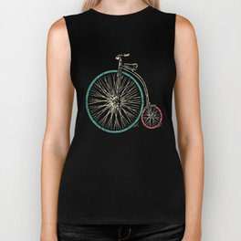 Cycling Forever | Penny Farthing High Wheel Biker Tank