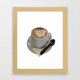 Americano Coffee Vector Framed Art Print