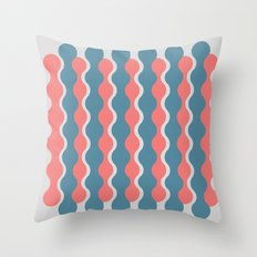 Midcentury Pattern 05 Throw Pillow