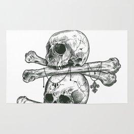 Skull Totem Rug