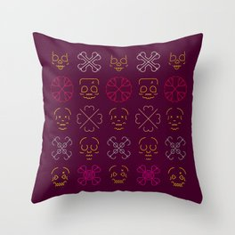 Mementos Mori, Mementos Amor Throw Pillow