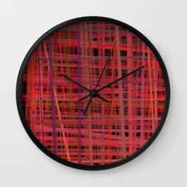 lining Wall Clock