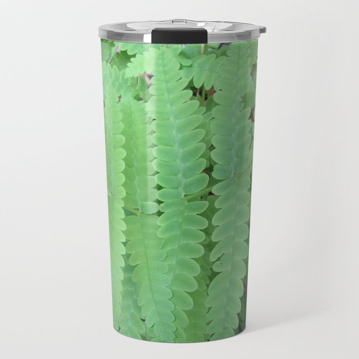 Fern Symmetry Travel Mug