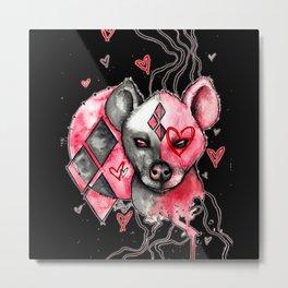 Hyena Metal Print