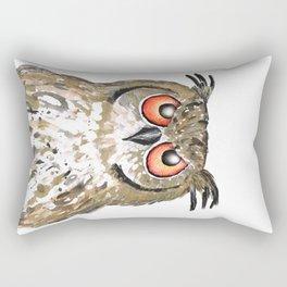 Golden owl Rectangular Pillow