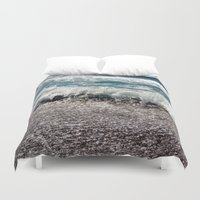 surf Duvet Covers featuring Surf by Art-Motiva