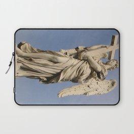 Bernini's angel with cross Laptop Sleeve