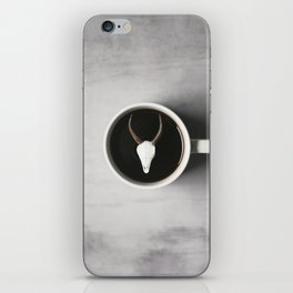 Antler and Coffee iPhone Skin