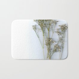 Dry Whites / Flowers Bath Mat