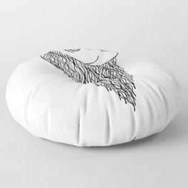 Girl Floor Pillow