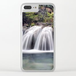 Fossil Creek Clear iPhone Case