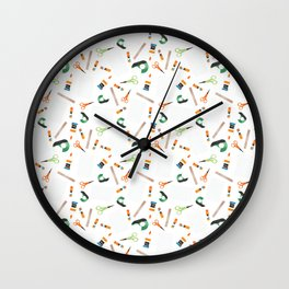 Cut + Paste Wall Clock