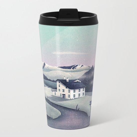 Alpine Island Metal Travel Mug
