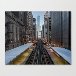 It's Quiet in the Morning Canvas Print