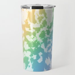 Rainbow Tie-Dye Travel Mug