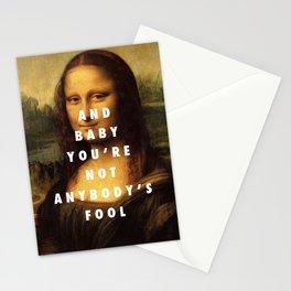 Mona Lisa Baby Stationery Cards