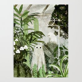 There's A Ghost in the Greenhouse Again Poster
