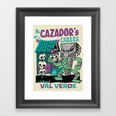 El Cazador's Cabana (open edition) Framed Art Print