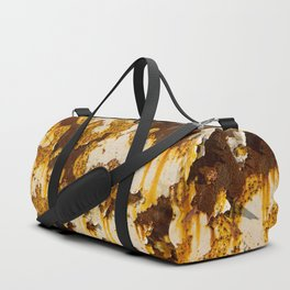 Peeling paint on rust. Duffle Bag