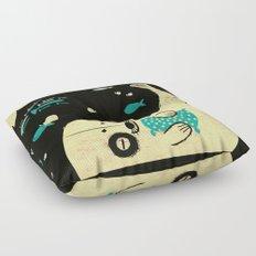 Panda Seal Floor Pillow