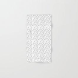 Minimal Pattern :: Triangles Hand & Bath Towel