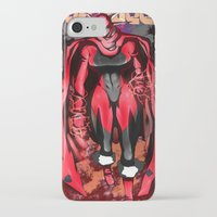 power ranger iPhone & iPod Cases featuring Royal Ranger - Red Queen by 121gigawatts