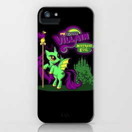 Mistress of all Ponies iPhone Case
