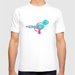 Electric Pink Raygun T-shirt