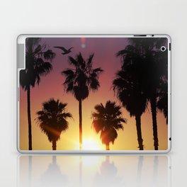 Venice Purple Sky Laptop & iPad Skin