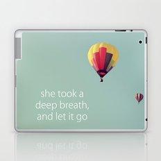 Deep Breath Laptop & iPad Skin
