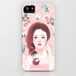 Jeniconi-flowery moment  iPhone Case