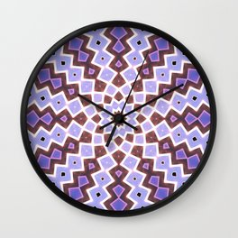 Purple Pink Wall Clock
