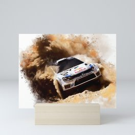 King Of Rallying Mini Art Print