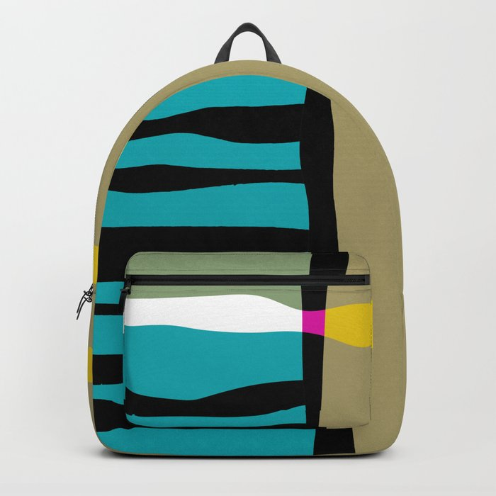 abstract composition 03 Backpack