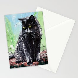 My little cat - kitty - animal - by LiliFlore Stationery Cards