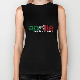 Aprilia Racing Motocycle Motobike Superbike All Sizes Biker T-Shirts Biker Tank