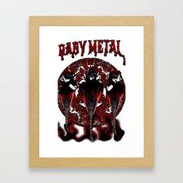 Babymetal Epicness Framed Art Print