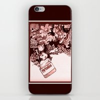 nutella iPhone & iPod Skins featuring nutella  by Kim Rose