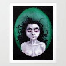 BREATHE UNDERWATER Art Print
