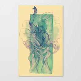 A Dream within a Dream Canvas Print