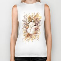 balance Biker Tanks featuring Slumber by Freeminds