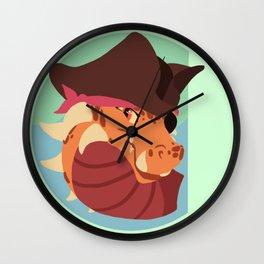Pirate Dragon Design Wall Clock