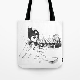 Pierrot the clown Tote Bag
