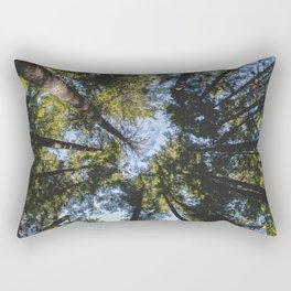 Vancouver Tree Tops Rectangular Pillow
